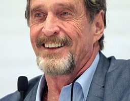 John McAfee Says His Phone was Compromised, Twitter Hacked