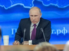 """Putin Says """"Some Firms"""" Need Online Monitoring"""