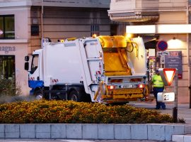 Startup Uses Ride-Sharing Technology for Trash Collection